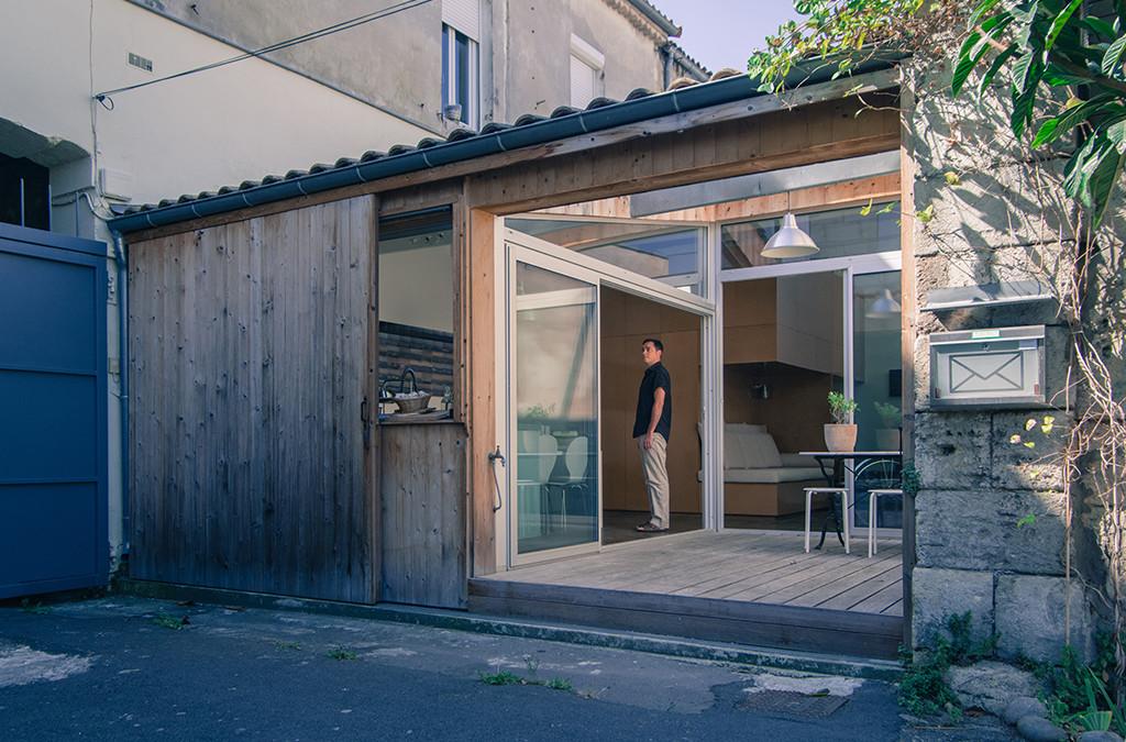 Zapuštena garaža pretvorena u moderni stan