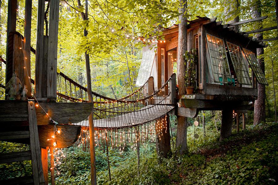 Najlepše vikendice: Bajkovito šumsko sklonište Pitera Bahuta