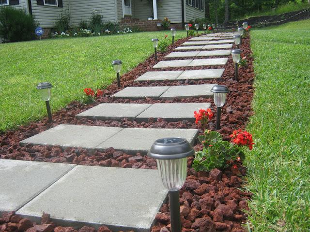 Ideje za savršeno dvorište: Baštenska staza
