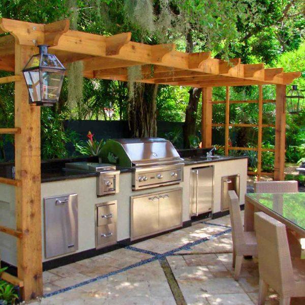 Ideje za savršeno dvorište: Letnja kuhinja